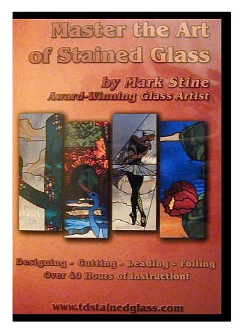 stained glass class on dvd