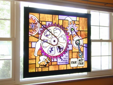 fantasy stained glass