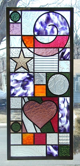 funky stained glass