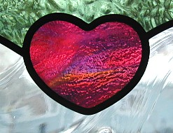 valentines day stained glass,custom lettering stained glass,personalized valentines day gift