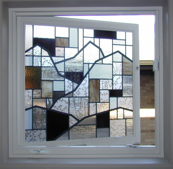 opening window Stained Glass