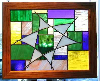 judaic stained glass